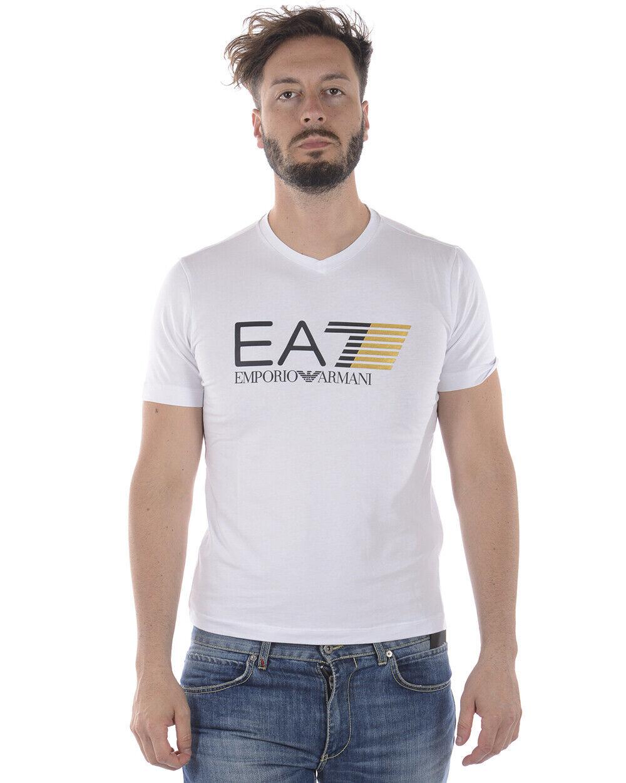 Emporio Armani EA7 Hombre Sudadera Camiseta blancooo 3ZPT63PJ03Z  1100 Talla. L poner Oferta  Vuelta de 10 dias