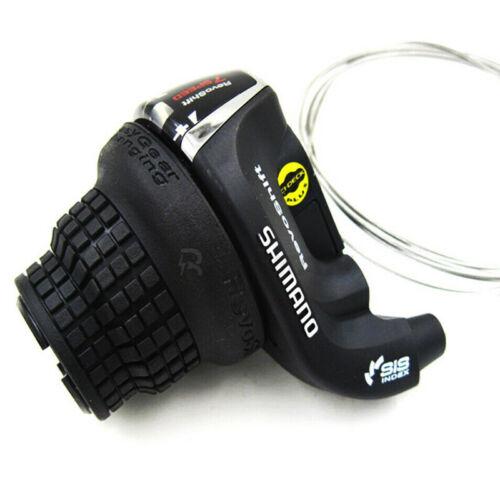 3//7//21 Speed Black US Shimano RevoShift SL-RS35 Twist Grip Shifter