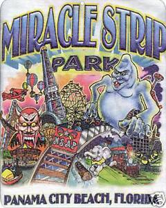 Image Is Loading Miracle Strip Amut Park Panama City Beach Sign