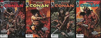 King Conan The Scarlet Citadel full set 1-2-3-4 Lot Barbarbian Giorello art REH