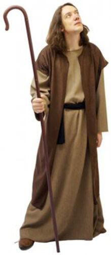 Bible Story-Nativity DISCIPLE-APOSTLE with CROOK-Fancy Dress Costume SML-XXXXL