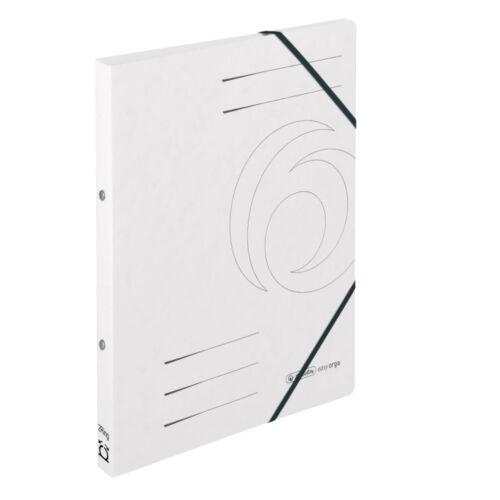 DIN A4 Farbe aus Colorspan-Karton weiß Herlitz Ringhefter Ringbuch