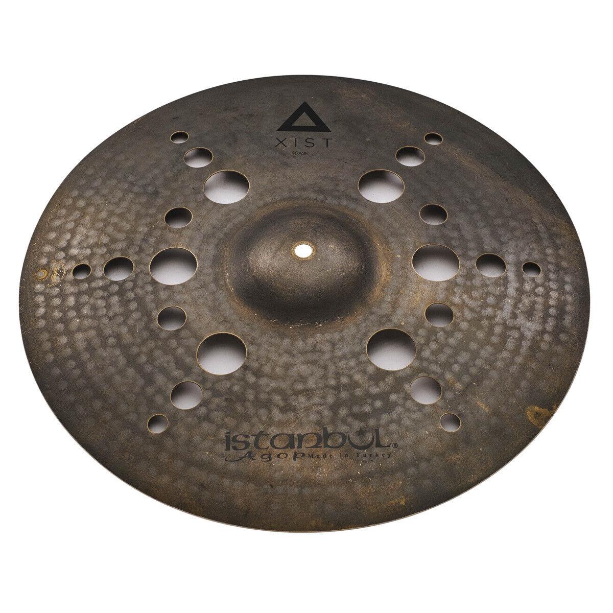 Istanbul 17  XIST Dark ION Crash Cymbal IXIONDC17