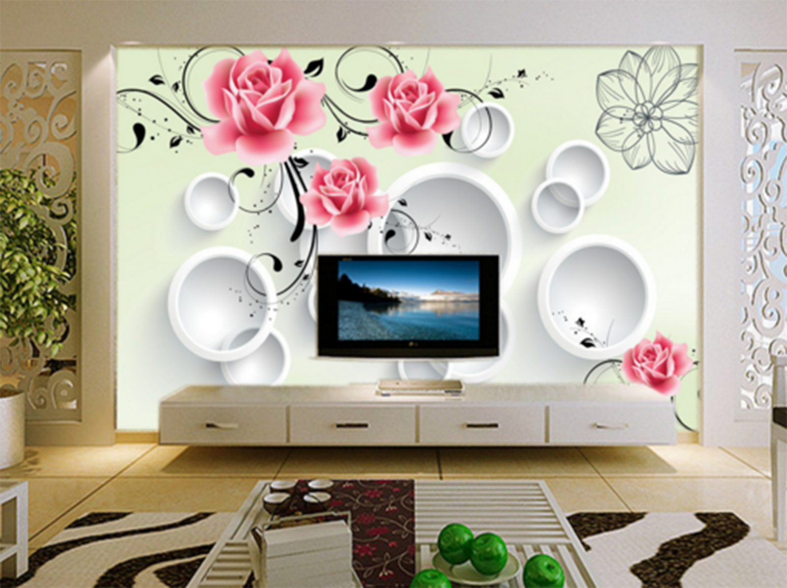 3D Squid Vines Painted 873 Paper Wall Print Wall Decal Wall Deco Indoor Murals