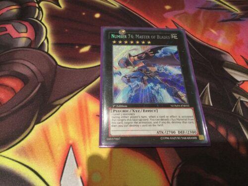 Master of Blades Secret Rare 1st Edition NUMH-EN032 Number 74