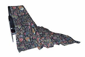 Kantha-Quilt-King-Cotton-Black-Bedspread-Handmade-Blanket-Queen-Size-Crazy