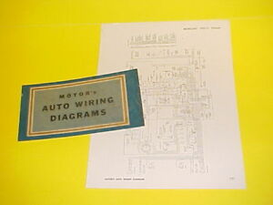 details about 1950 1951 1952 1953 1954 1955 1956 mercury montclair convertible wiring diagrams 1953 ford naa wiring wiring diagrams