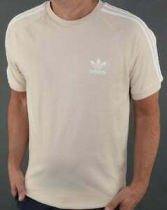 Adidas-Originals-3-Stripes-T-Shirt-in-Beige-Linen-short-sleeve-tee-CZ4547