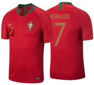 9a280187c NIKE C. RONALDO PORTUGAL VAPOR MATCH AUTHENTIC HOME JERSEY WORLD CUP ...