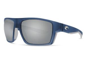6dabb1f8c05 NEW Costa Del Mar BLOKE Bahama Blue Fade   580 Silver Gray Mirror ...