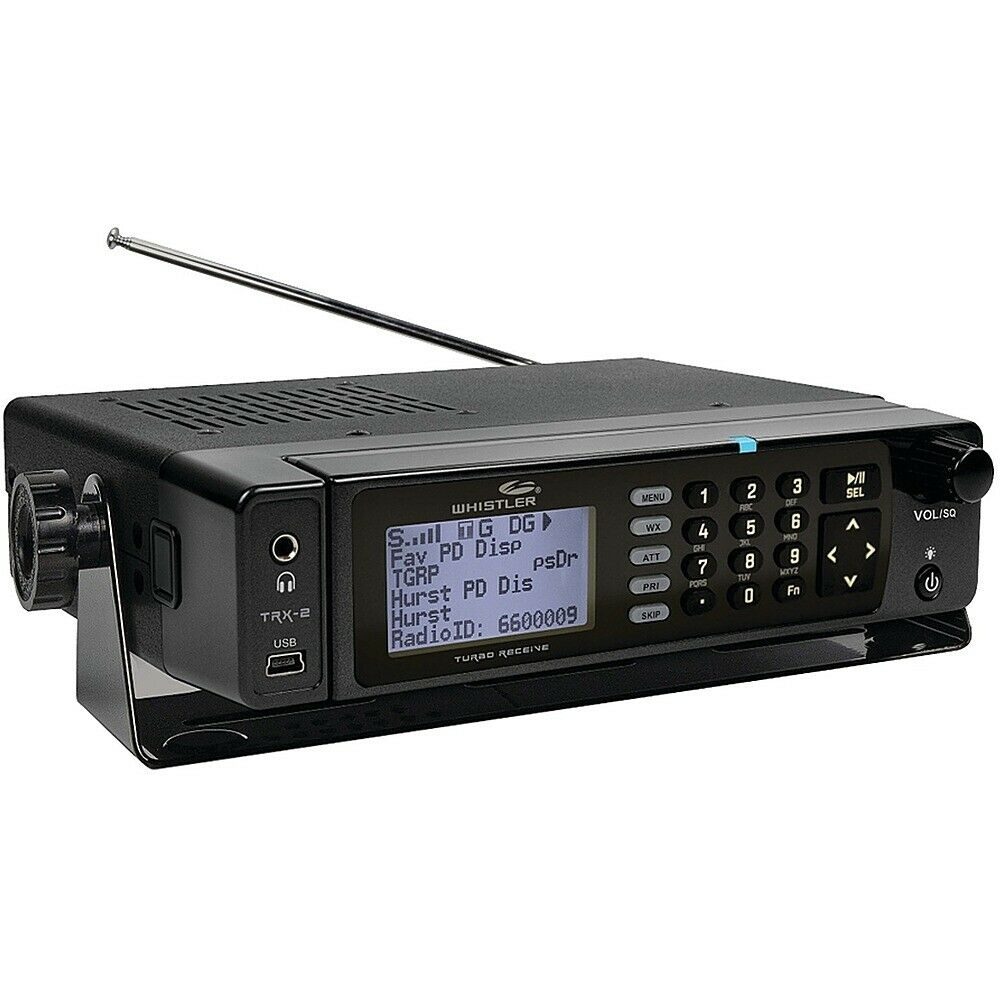 Whistler - TRX-2 Digital Scanner Radio - Mobile/Desktop - Black. Available Now for 552.99