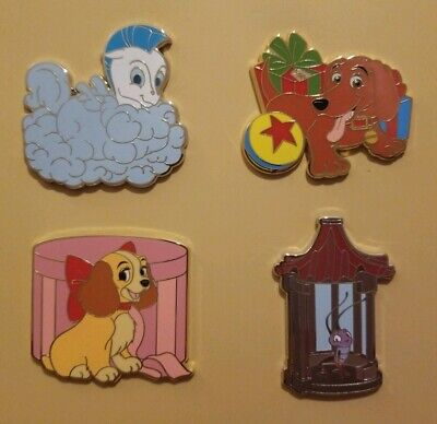 Cri-kee LE 1250! Lady Disney Fairy Tails Event Goodbye Pin Set Pegasus Buster