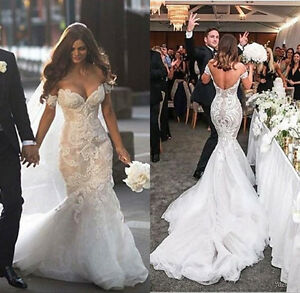 Off the Shoulder Sexy Wedding Dresses
