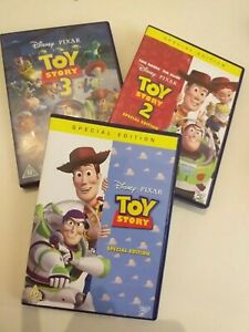 Dvd-lote-lot-3-1-2-3-Toy-story-collection-lot-in-English-special-edition