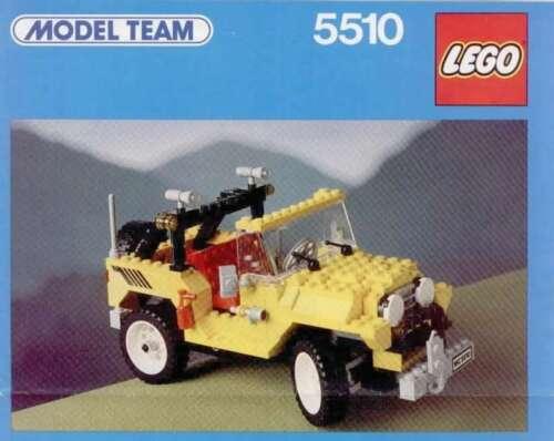 Precut Custom Replacement Stickers voor Lego Set 5510 1986 Off-Road 4x4