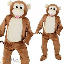 a625e4aa6d Adult Cheeky Monkey Mascot Costume Unisex Jungle Animal Fancy Dress Outfit