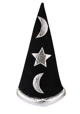 Black Hat Halloween Fancy Dress Props Magic Hat Cosplay Magician Jazz Hat Vogue