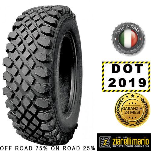 Pneumatici Ziarelli 215//75 R14 98T TRAC M+S DOT 2019 *RICOSTRUITA IN ITALIA*