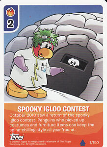 Disney-Club-Penguin-Water-Second-Wave-Fire-Trading-Cards-Pick-From-List-1-To-28