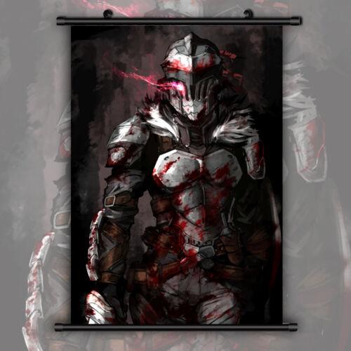 Goblin Slayer HD Print Anime Wall Poster Scroll Room Decor