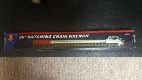 "20/"" Ratchet Chain Pipe Wrench20644A"
