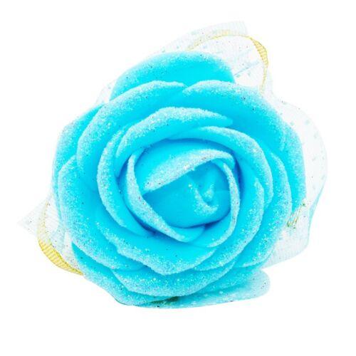 Cinta de muñeca nupcial mano de dama de honor flores De Seda Rosa Ramillete Boda Fiesta
