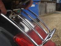 Vespa GT GTS GTV Rear Sprint Rack - Chrome