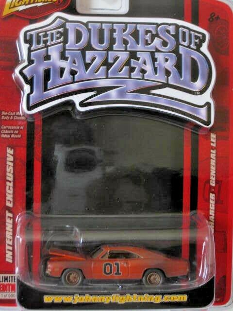 Johnny Lightning Dukes Dukes Dukes of Hazzard Limited Edition 1969 Dodge General Lee 1073c6