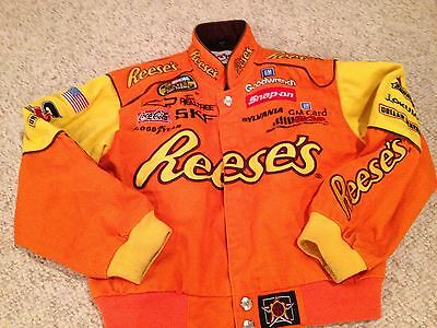 Kevin Harvick NASCAR Youth Jacket Medium 6 7  Reese's Peanut Butter Cup