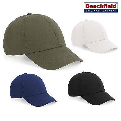 Beechfield Organic Cotton 6-pannello Cappello B54- Funzionalità Eccezionali
