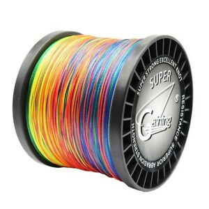 300M PE Saltwater Sea Fishing Lines Braided Lines Strands Wire 35LB