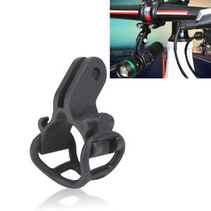 Bike Handlebar Camera Mount Stand Stopwatch Bracket Flashlight Holder For GOPRO