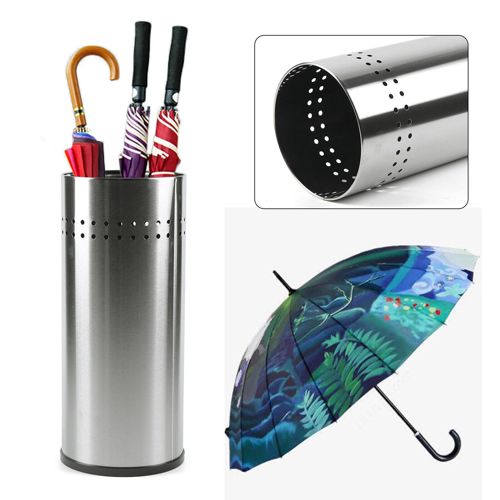 Hallway Drain Stand Umbrella Holder Rain Storage Rack Bucket For Office Home49.9