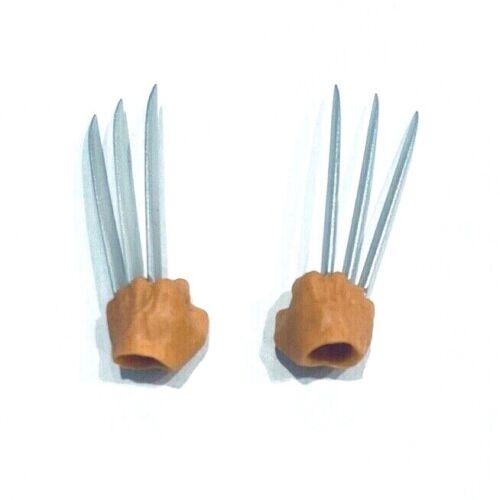 MZ-LG-CLH 1//12 loose paire de pince à mains de Mezco One:12 Logan Figure