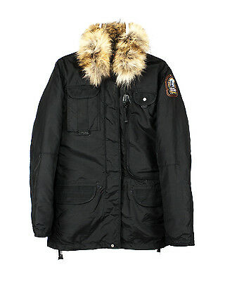 best cheap 4b6dc a46af 🔥 PARAJUMPERS Masterpiece Series Down Insulated DENALI Parka W/ Real Fur  SZ M | eBay