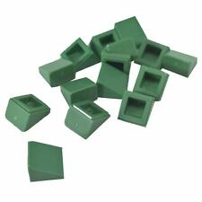 NEW!!! 54200 Lego 20x Dark Green Slope 1x1x2//3