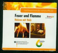 DVD Heizen mit Holz Feuer und Flamme Scheitholz Pellets Bioenergie Holz DVD NEU