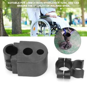 Medical-Wheelchair-Rollator-Walking-Stick-Cane-Crutch-Holder-Mobility-Aid-Supply