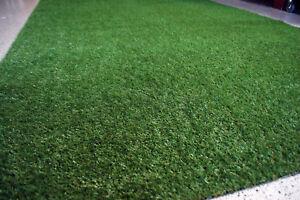 Rasenteppich-Kunstrasen-25-mm-Tuftrasen-Gras-verschiedene-Groessen-NEU