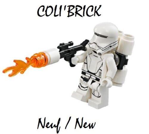 First Order Flametrooper Lego Figurine Minifig Star Wars sw666 NEW