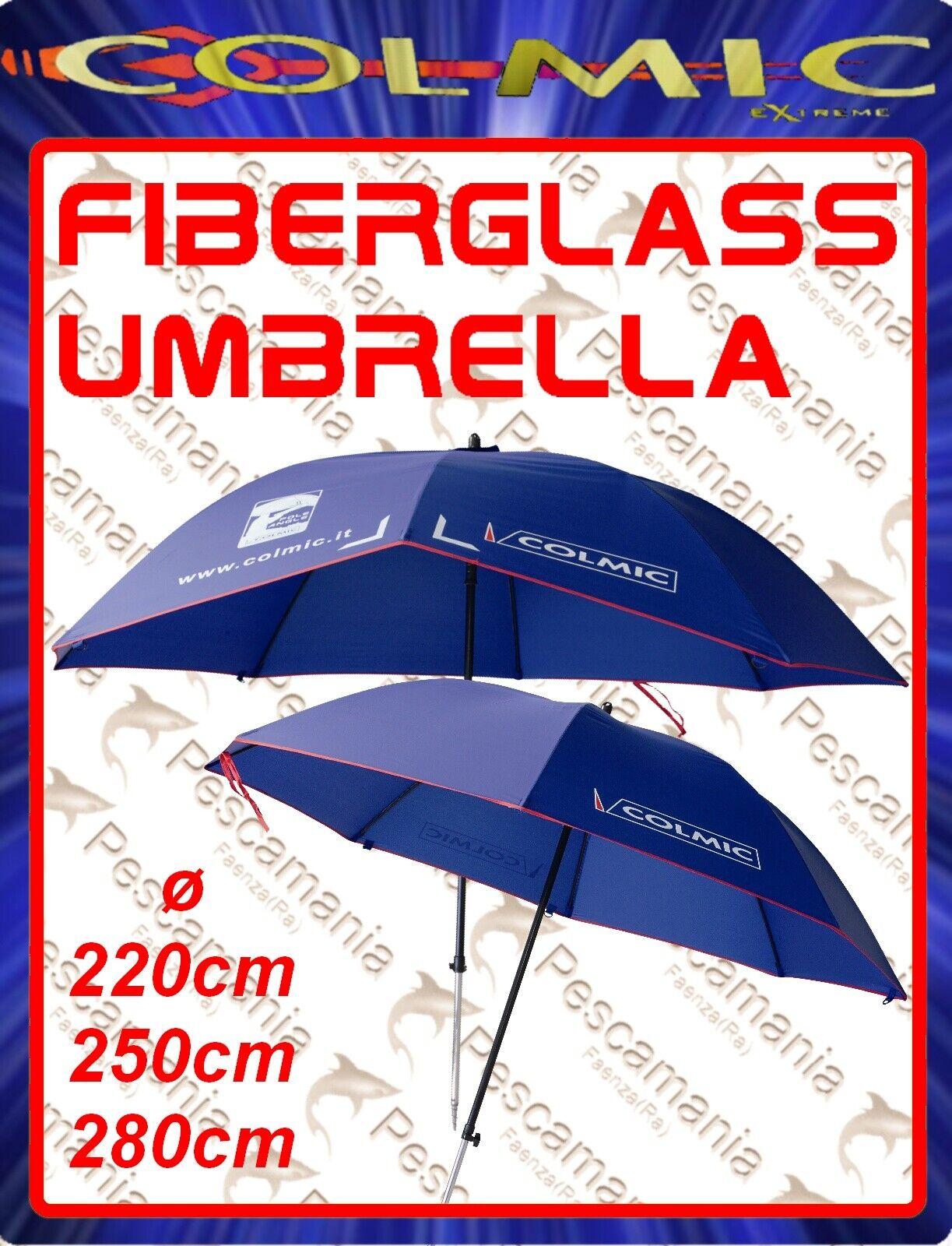 Ombrellone HI-TECH colmic fiberglass Umbrella