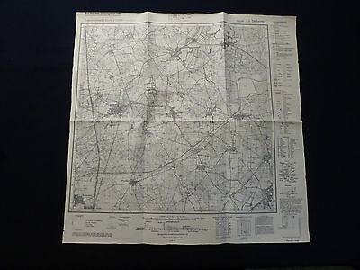 2019 Mode Landkarte Meßtischblatt 4350 Alt Döbern, Petershain, Woschkow, Von 1942