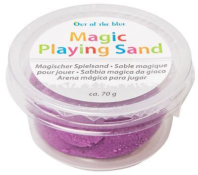 1 x Magic Playing Sand - 8 Assorted Colours Available - Motion Kinetic Moving