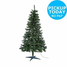 HOME Nordland 6ft Pre-Lit Indoor Christmas Tree - Green