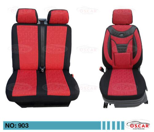 MAß Schonbezüge Sitzbezüge Sitzbezug  VOLKSWAGEN VW LT 1+2 Sitzer  903