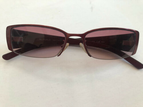Furla Pink Flower Sunglasses With Gradiant Pink Le
