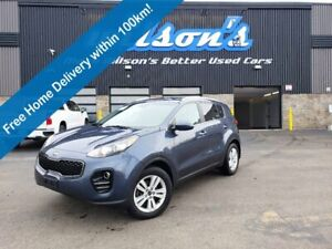 2017 Kia Sportage LX, Reverse Camera, Alloys, Heated Seats, Bluetooth, and Much More!