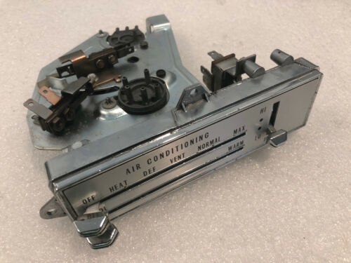 RBLT 70-72 OLDS CUTLASS A//C Heater Control w//NEW LENS AC Air Conditioning F-85