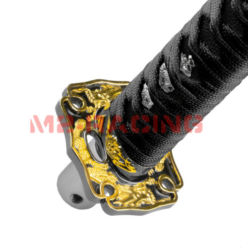 Details about  /Samurai Sword Black ShiFT Knob Shifter Alloy Katana With Adapters Universal 15cm