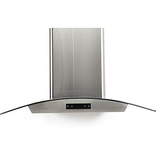 Genial Cavaliere Euro Sv198d 30e 600 CFM 30 Inch Wide Wall Mounted Range Hood With  Glas Stainless Steel   EBay